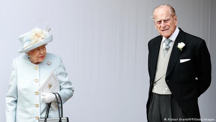 Regina Elisabeta a II-a şi Prinţul Philip în 2018.